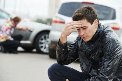 Uninsured motorist after car crash