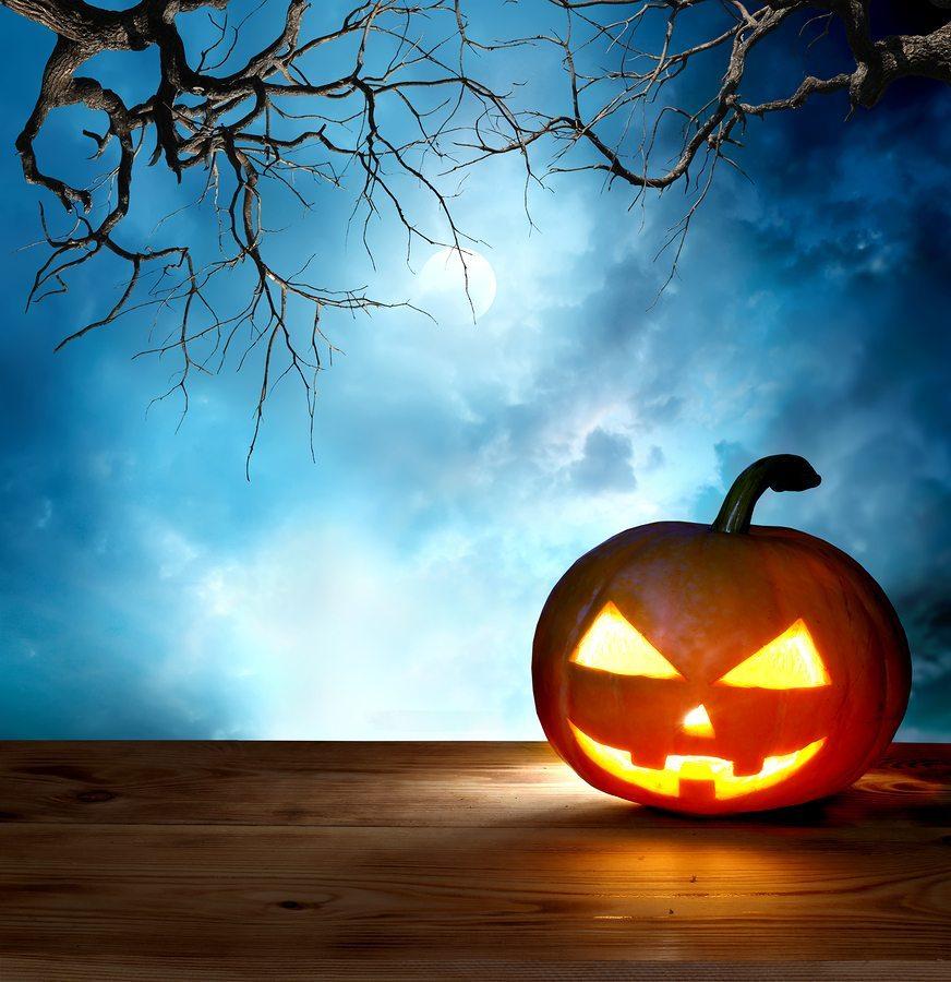 halloween pumpkin background