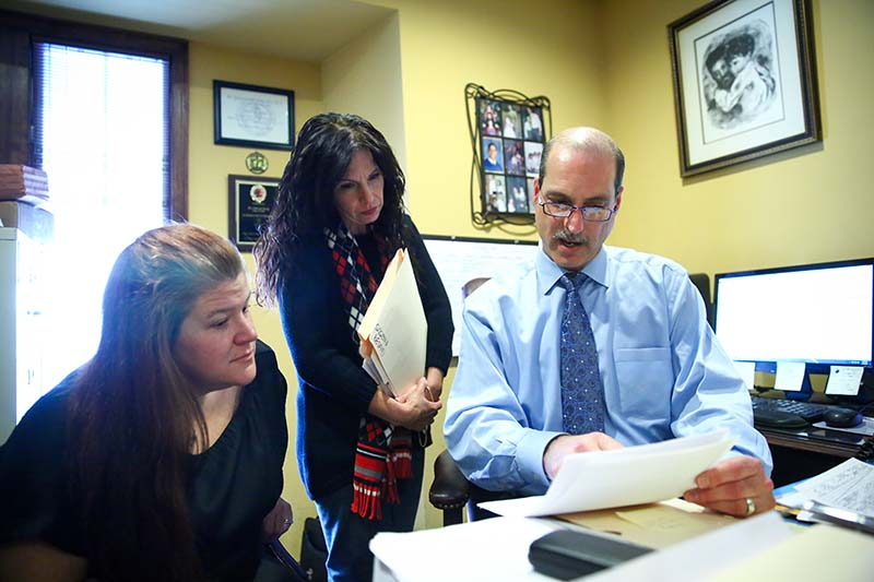 attorney discussing a lawsuit in Middletown