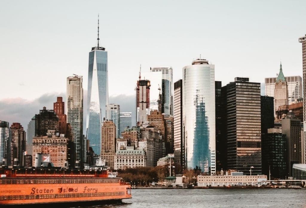 Staten Island Ferry and New York City